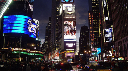 800px Times Square Evening1 Times Square bomb suspect in custody