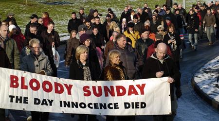 Bloody Sunday UK government apologizes for Bloody Sunday