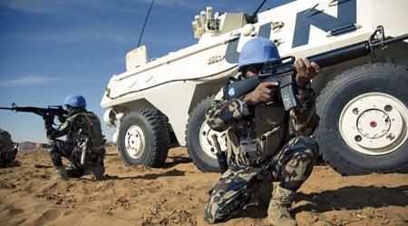 Darfur Peacekeepers die in Darfur