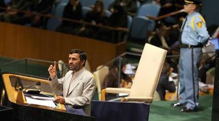 Ahmadinejad UN US walks out of United Nations over Ahmadinejad remarks