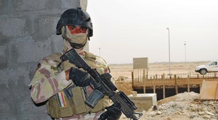 Iraqi army Hostages killed in Baghdad church raid
