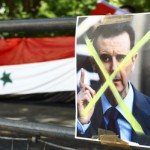 Syrians in London continue protests during Ramadan