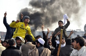 Afghan Quran burning 300x196 MEDIA ALERT: Afghans protest NATO Quran burning