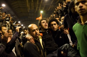 EgyptRiots1030411 300x199 MEDIA ALERT: Aftermath of Egypt soccer riots