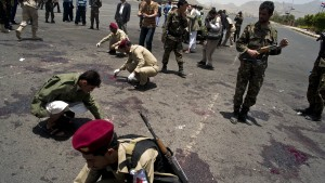 1227355 300x169 MEDIA ALERT: Yemen suicide bombing kills at least 90, injures hundreds