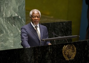 MEDIA ALERT: Kofi Annan steps down as UN special envoy to Syria