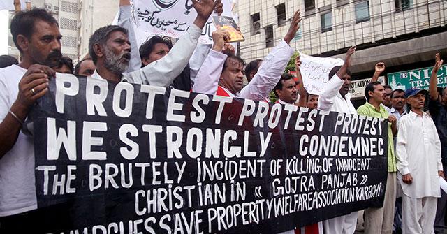 meen MEDIA ALERT: Pakistani Christians Protest Rash of Violence